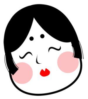 お多福おかめは日本的女性美の極致