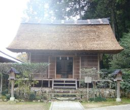 熊野大社の鑽火殿
